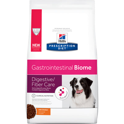 Hill's Prescription Diet Gastrointestinal Biome Digestive Fibre Care with Chicken Dry Dog Food 3.6kg