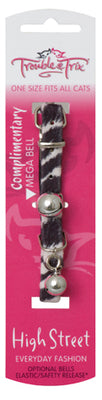 Trouble & Trix Cat Collar High Street - Zebra Pet Accessories