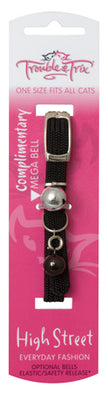 Trouble & Trix Cat Collar High Street Stretch Pet Accessories