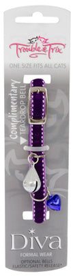 Trouble & Trix Cat Collar Diva Pet Accessories