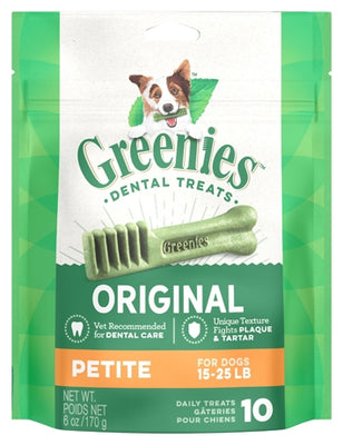 Greenies Dental Chews For Petite Dogs 10's Dog Food