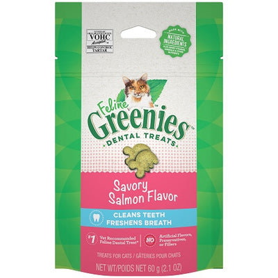Feline Greenies Savory Salmon 60g