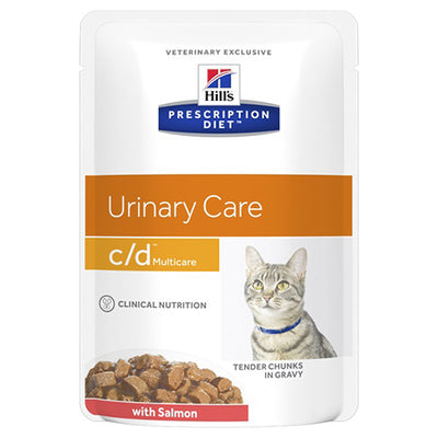 Hills Prescription Diet Feline c/d Multicare Salmon