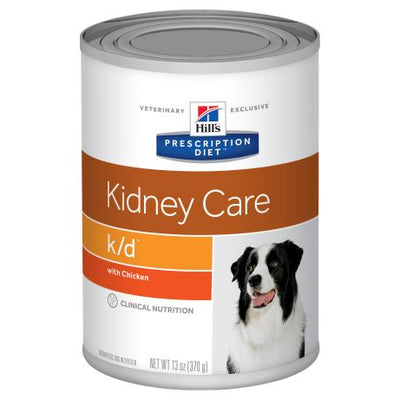 Hill's Prescription Diet k/d Kidney Care with Chicken Canned Dog Food 370g