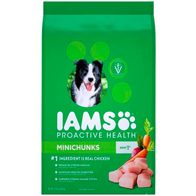 Iams Adult Minichunks Dry Dog Food 13.6kg