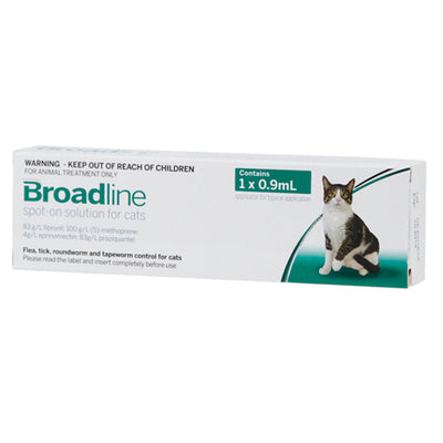 BROADLINE spot-on solution for large cats