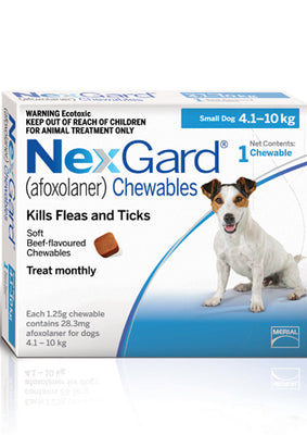 NEXGARD Chewables Small Dog Flea & Worm