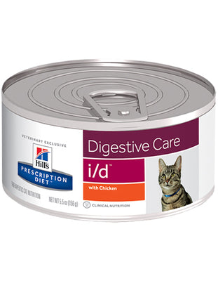 Hills Prescription Diet Feline i/d 156g Vet Food