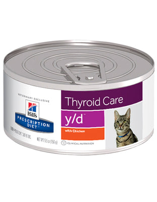Hills Prescription Diet Feline y/d 156g