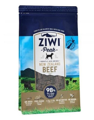 Ziwi Peak Air-Dried Beef 454gm Dog Food