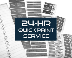 Seals HQ launches 24-hr QuickPrint Service for Security Labels