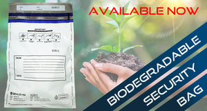 Biodegradable Security One Time Use Bags now IN STOCK!