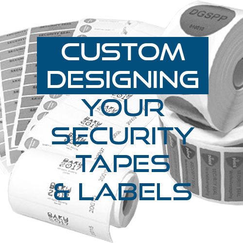 How to Custom Design your Security Tapes and Labels
