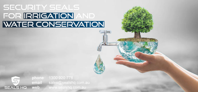 Security Seals for Irrigation and Water Conservation