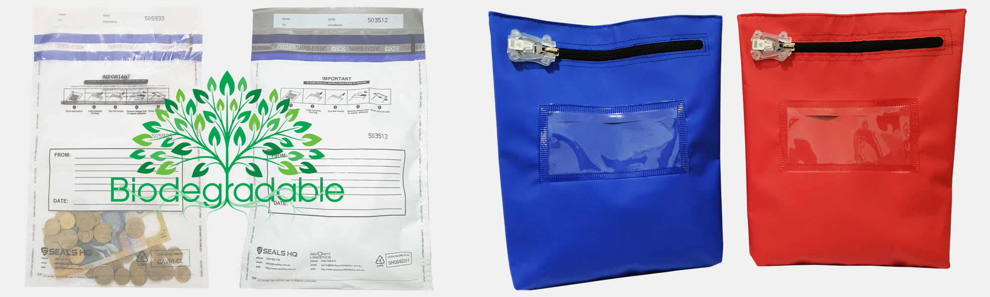Seals HQ Security Bags Main Image
