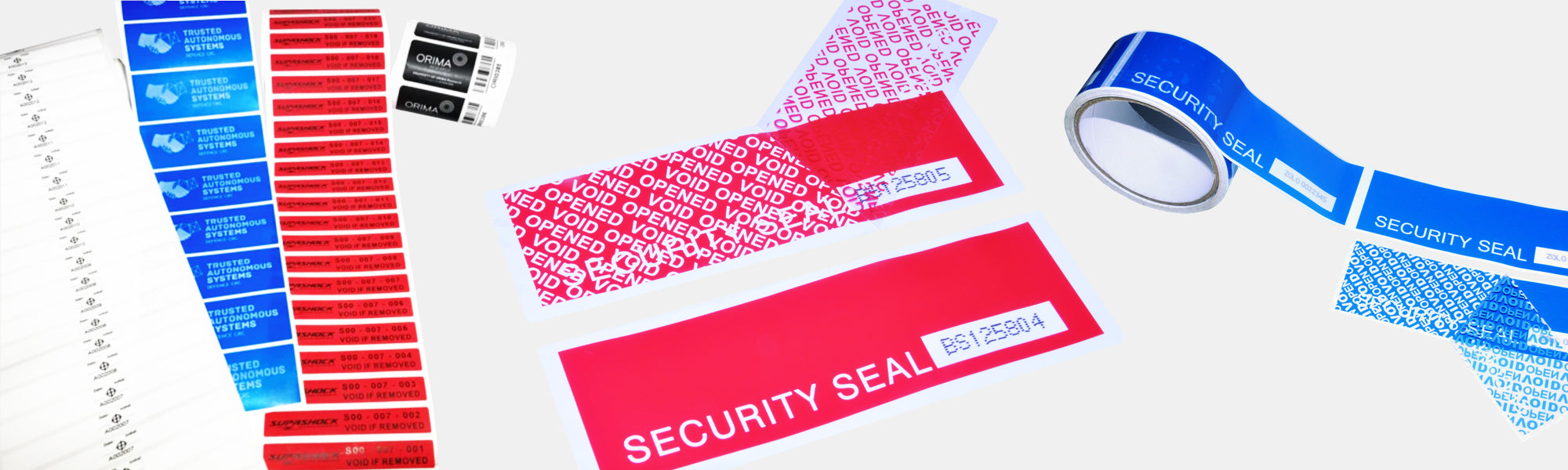 Seals HQ Tamper Evident Tape and Labels Main Image