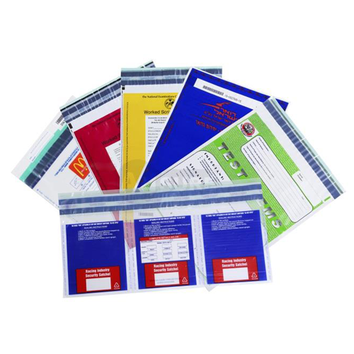 Custom Designed Security Tamper Evident Bags