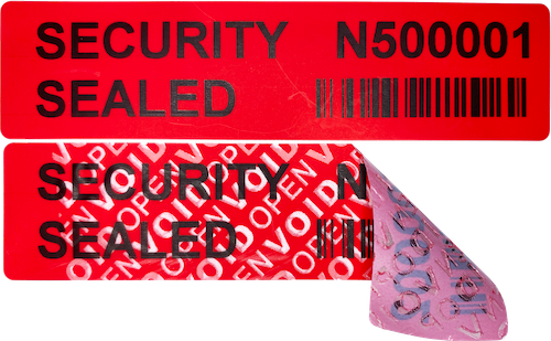 Non Transfer Security Labels