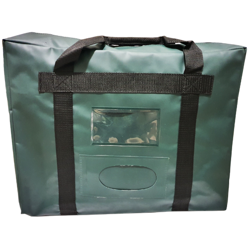 Reusable Security Bag - Cash Till Bag with Handle
