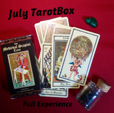 TarotBox - Full Experience - monthly subscription box
