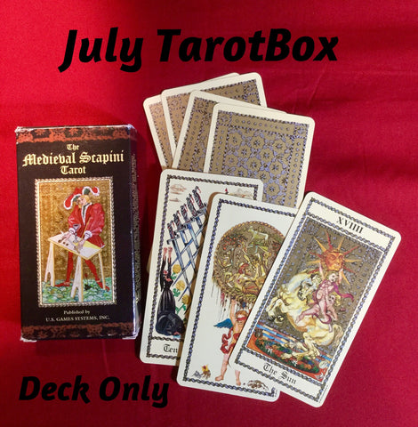 TarotBox - Deck Only - monthly subscription box