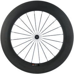 88mm carbon road  wheelset clincher free shipping