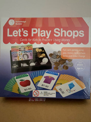 Let's Play Shops Game