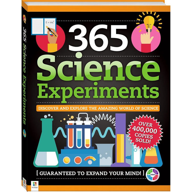 science experiments books for kids