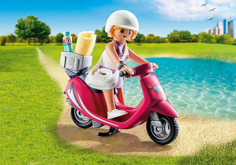 Playmobil - Beachgoer with Scooter  (9084)