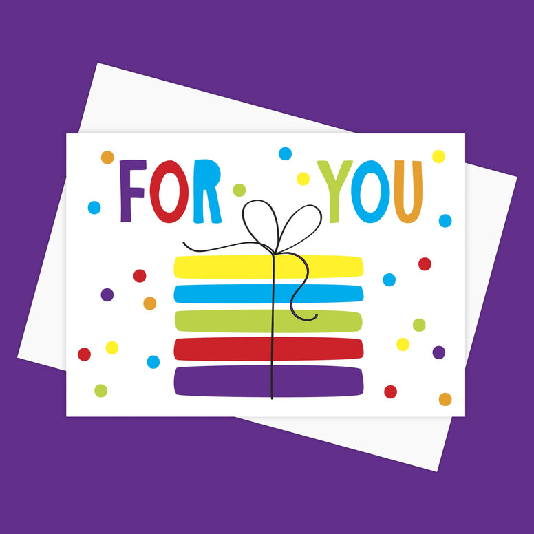 Greeting Card – FOR YOU