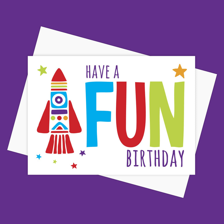 Greeting Card – FUN BIRTHDAY