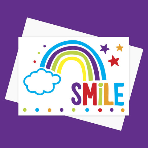 Greeting Card – SMILE