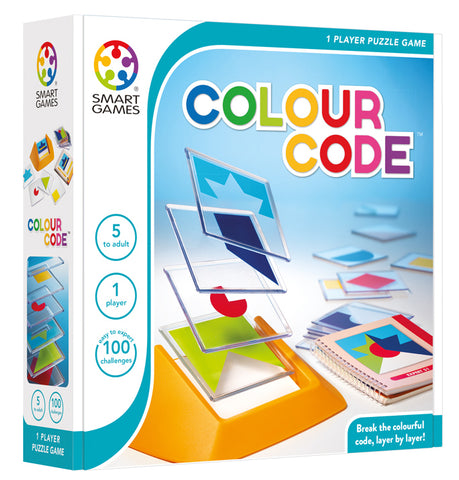 Colour Code Logic Game - Smart Games
