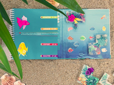 Coral Reef Magnetic Game - Smart Games