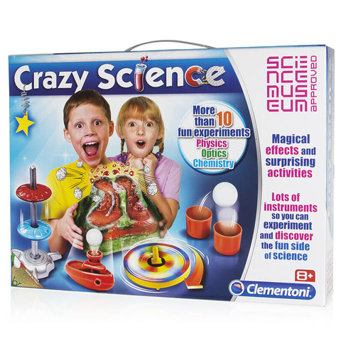 Crazy Science Kit  Clementoni