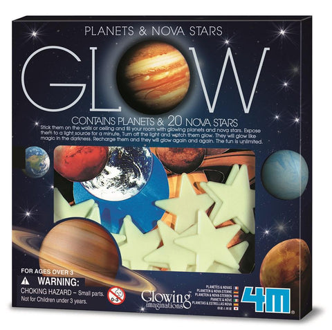 Glow In The Dark Planets and Nova Stars Box Set