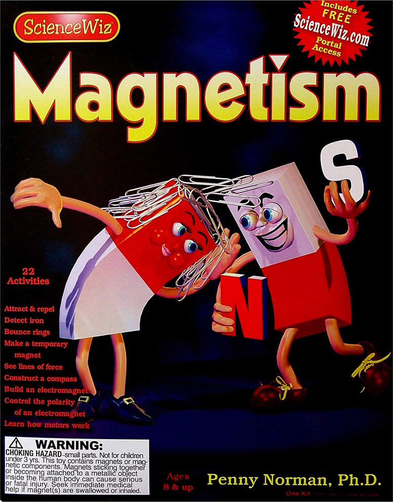 Science Wiz Magnetism Experiment Science Kit