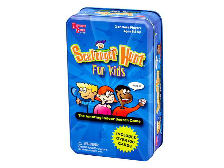 Scavenger Hunt For Kids Tin Game