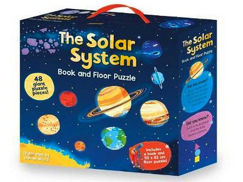 The Solar System Book and Floor Puzzle