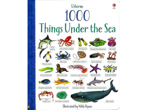 1000 Things Under The Sea Book - Usborne