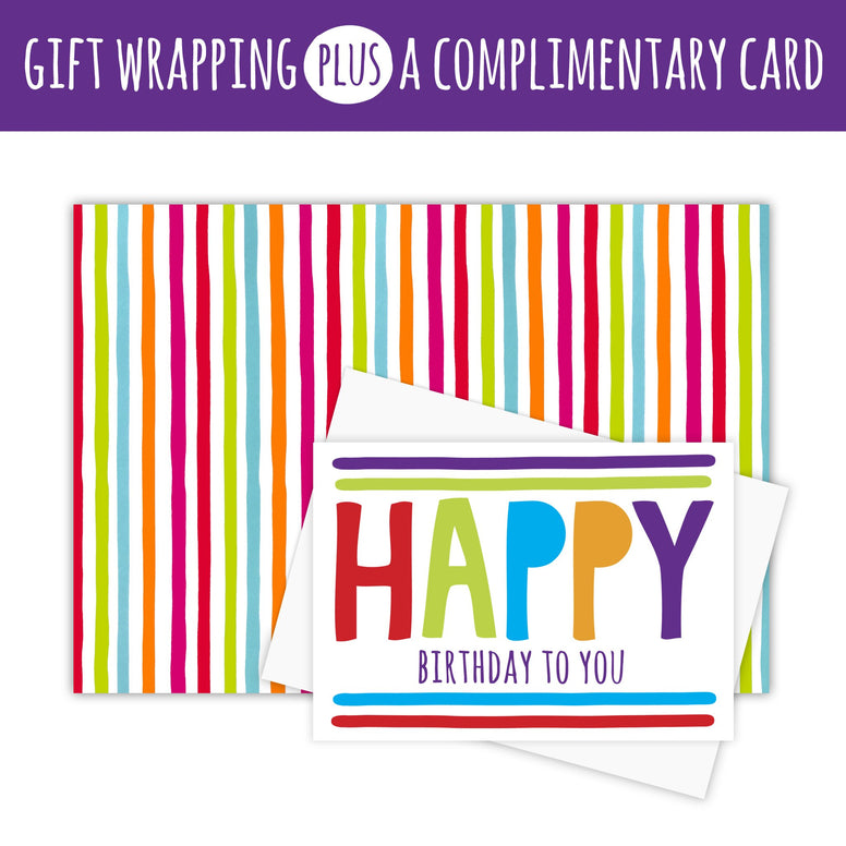 WE WRAP - Gift Wrapping PLUS Complimentary Card