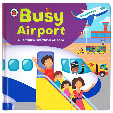 Busy Airport Lift the Flap Book
