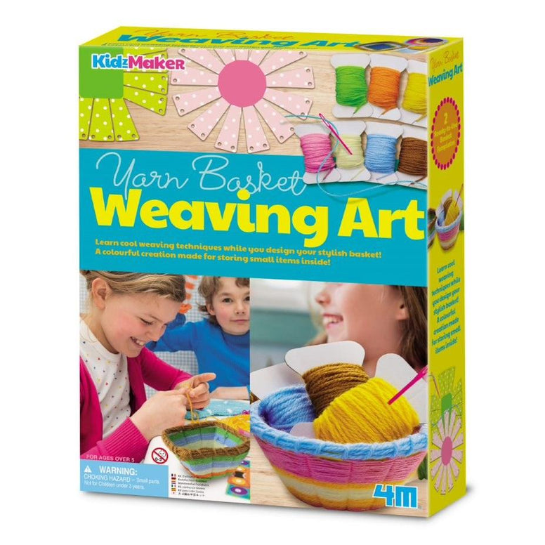 4M Kidzmaker - Basket Weaving Art Kit