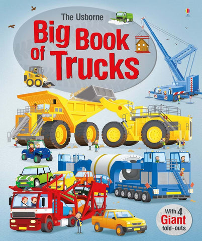Big Book of Trucks - Usborne