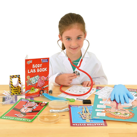 Piccolo Discover The Human Body Science Kit