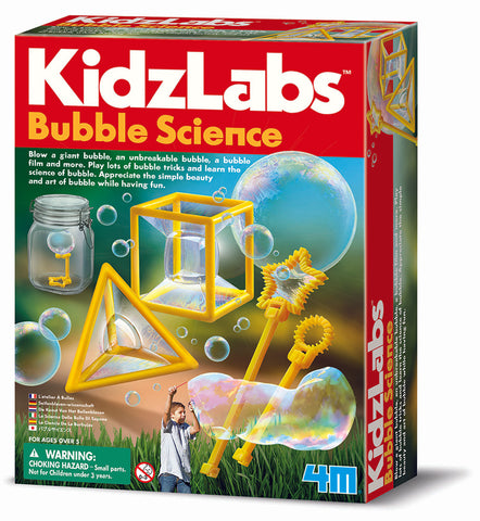 Bubble science experiment kit for kids KidzLabs www.curiouskidstoylab.com.au