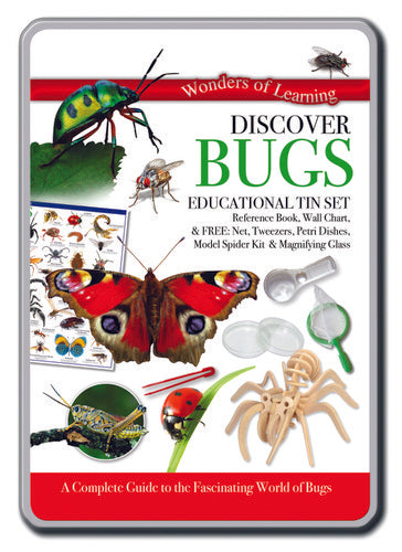 Discover Bugs Educational Tin Set
