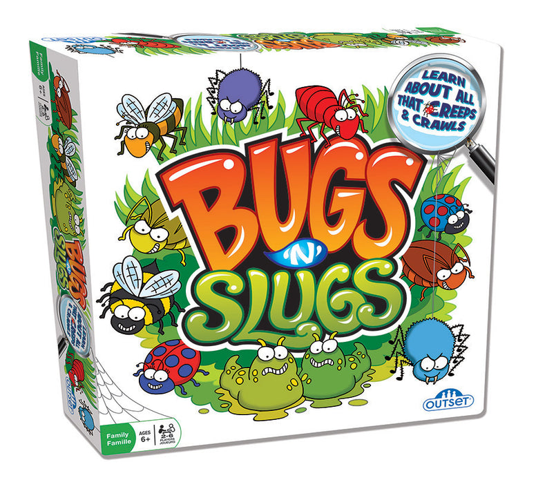 Bugs n Slugs Board Game