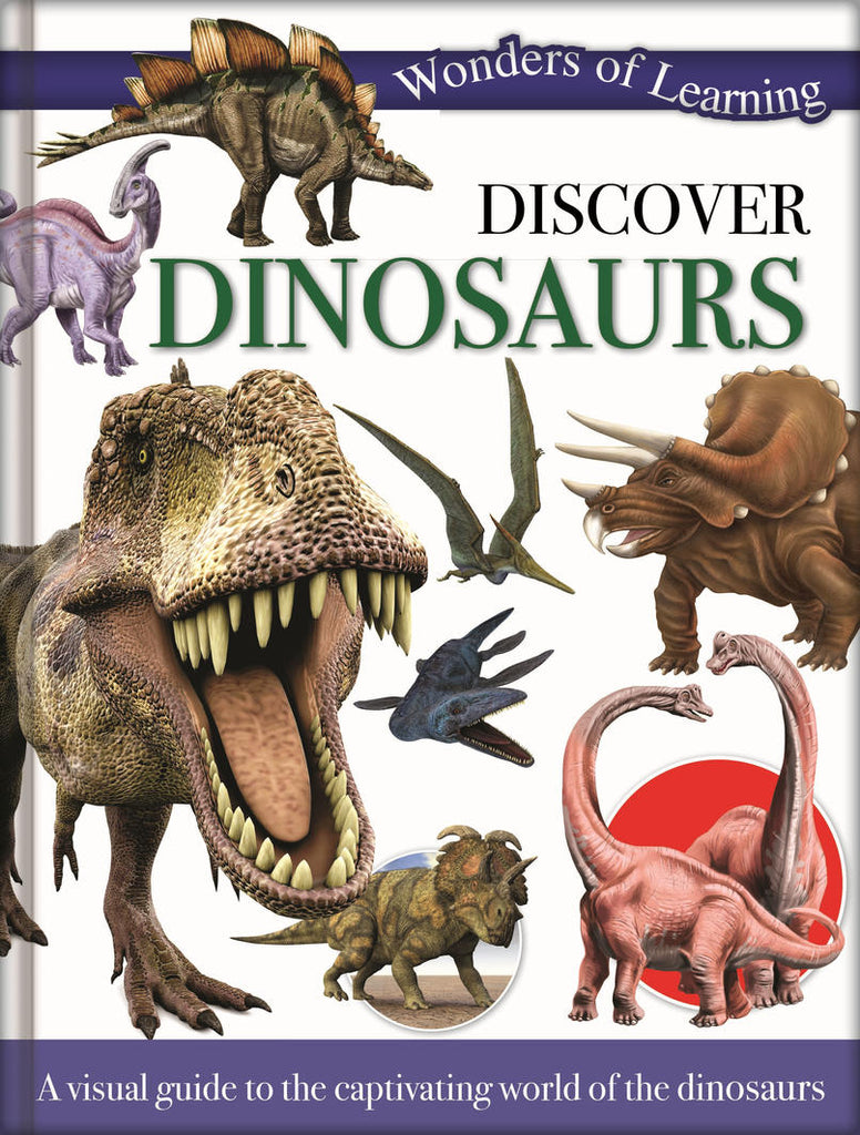 Wonders of Learning - Discover Dinosaurs Book
