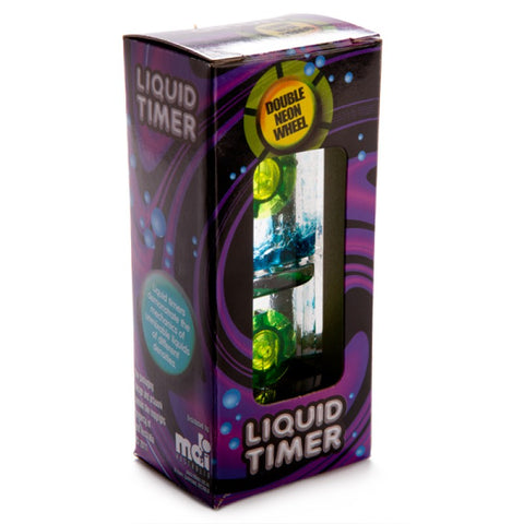 Double Wheel Liquid Neon Timer
